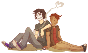 Just a couple of chill motherfuckers by AntioxidantSuperhero