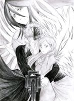 Bleach pencil artwork by God-Given-25