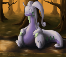 Goodra by Rabid-Fangirl212