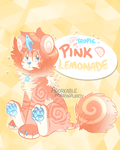 DandyLyon - Tropic Pink Lemonade Auction [CLOSED] by AdorkableMarina