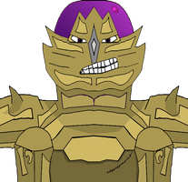 DE Character 26 - Gold Gorn by ILHI