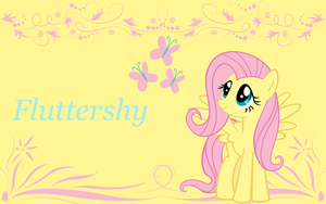 Fluttershy Wallpaper by animegirl1429