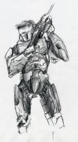 Master Chief by bjjlenore