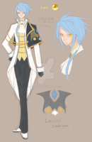Chara Concept : Halden Lucenti by pinkyCHU