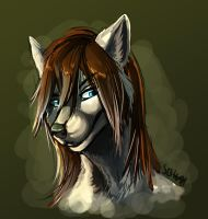 Silvertail potrait by Silverbloodwolf98