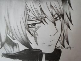 Jellal Fernandez of Fairy Tail by DrawWithoutLimits101
