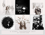 6 Icons - Childhood Lost by Zachclaw