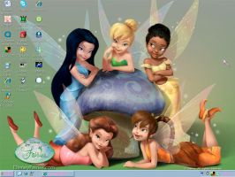 Disney Fairies Desktop by PrincessDestinee