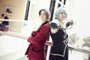 PW: Miles and Franziska by VieEnRouge