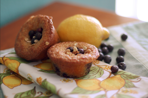 Blueberry Lemon Muffins by laurenjacob