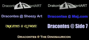 Old Webpage Buttons by dracontes