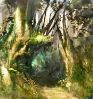 Tree Passage by hungerartist