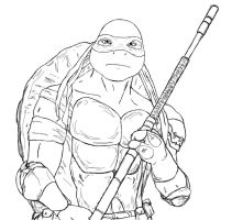 TMNT Donatello 2014 by jerica128