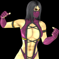 MK2011 Mileena Primary UMKIII 2nd VS Pose by artemismoonguardian