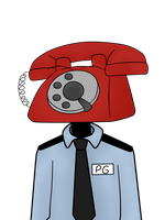 Phone Guy by fnaf-fanny
