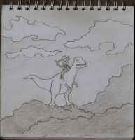 # 9, Dino(cow)boy by somezombie1