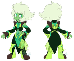 Emerald Alternative Crystal Gem Outfit by iPhysik