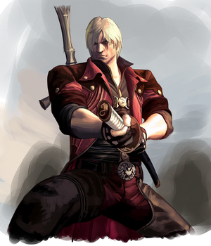 Dante doodle by itchcrotch