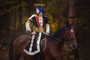 Trinity Blood - Radu Barvon - Courser by ErikDesler