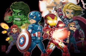 The Avengers...It's what we call ourselves. by lordmesa