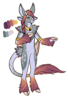 Design - Sunset Fawn by Arquerite
