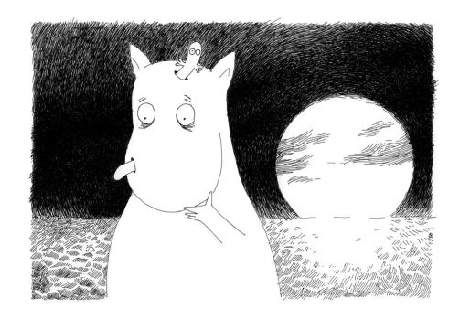 What's Eating Moomin Grape by Rorkas