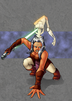 Ahsoka Slice by TravisTheGeek