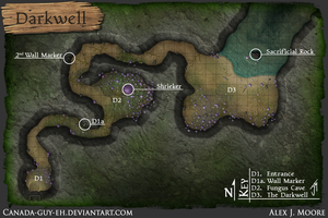 The Darkwell Map by Canada-Guy-Eh