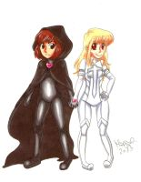 London and Maddie are... Cloak and Dagger by SonicPossible00
