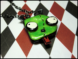 GIR Doggie Necklace by GrandmaThunderpants