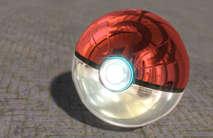 Pokeball with glare effect by FinnAkira