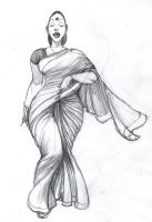 Saree by Nisachar
