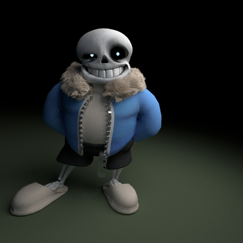 Undertale: Sans by GreenScrapBot