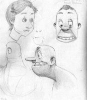 More sketches by Geebler-art