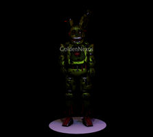 Springtrap Finished Model by GoldenNexus