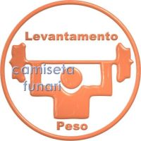 Pictograma levantamento PESO by camiseta-funari