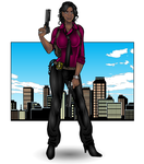 Detective Victoria Payton by Smitty309