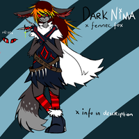 Dark Nima Reference by MiriCat