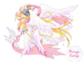 Angewomon Render 1 by MayaRenge