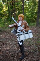 Attack on Titan Armin cosplay by superjacqui