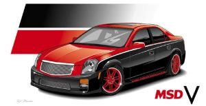 Caddy CTS-V by RobSWD