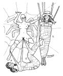 The Spider's Captives, 2 (ink) by captainkidnap