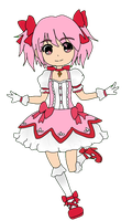 Madoka chibi by Moiqueen