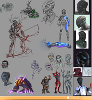 Sketchdump 25.10.2015 by Just-a-drawing-Cat