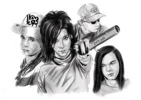 Tokio Hotel Band by LykanBTK