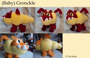 (Baby) Gronckle by TadStone
