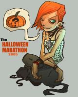 halloween marathon by Fealasy