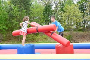 Medway Founder's Day Fun, Bouncy Jousting 14 by Miss-Tbones