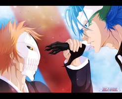 Ichigo Vs Grimmjow by KhalilXPirates