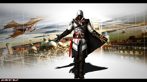 Assassin's Creed 2 Ezio HD Render by EiL17